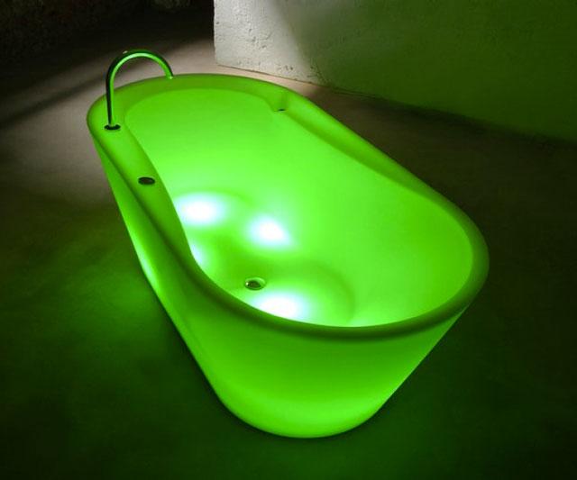 Osvětlení v koupelně